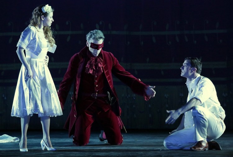 Don Giovanni Semenzato, Hampson and Olivieri, photo by Brescia Amisano – Teatro alla Scala
