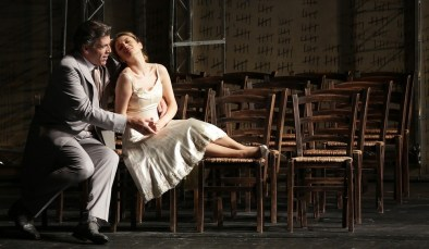 Don Giovanni Thomas Hampson and Giulia Semenzato, photo by Brescia Amisano – Teatro alla Scala