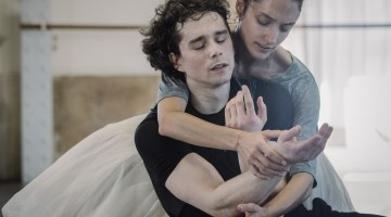 Ann Ray photographs Dorothée Gilbert and István Simon rehearsing Giselle