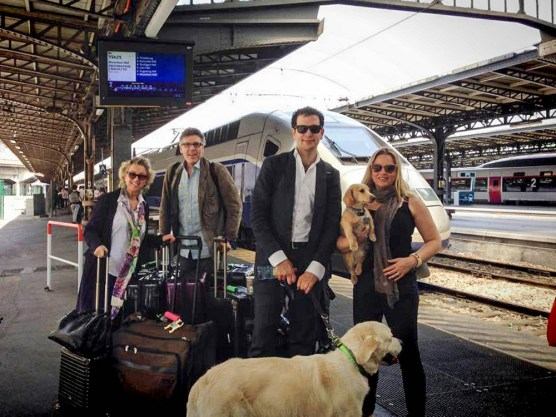 Family travels Andrea, Thomas, Luca, Cate, Lenny and Tristan