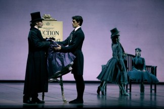 La Dame aux camélias with Roberto Bolle, photo by Brescia, Teatro alla Scala