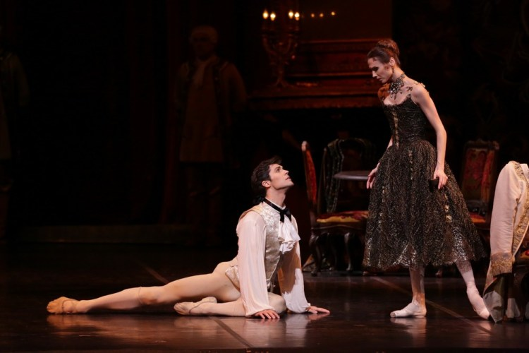 Manon with Svetlana Zakharova and Roberto Bolle, photo by Brescia e Amisano, Teatro alla Scala