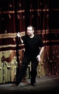 Maurice Béjart at La Scala in 1995, photo by Lelli Masotti, Teatro alla Scala