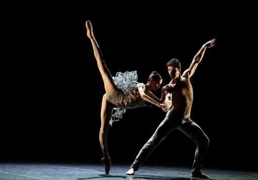 Progetto Haendel Svetlana Zakharova and Roberto Bolle photo Brescia e Amisano, Teatro alla Scala, 2017 02
