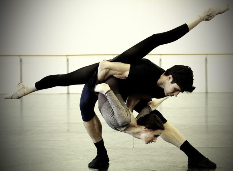 Progetto Handel   Svetlana Zakharova and Roberto Bolle in rehearsal   photo by Brescia and Amisano, Teatro alla Scala 1