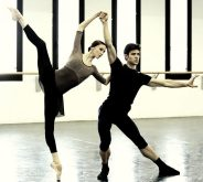 Progetto Handel Svetlana Zakharova and Roberto Bolle in rehearsal photo by Brescia and Amisano, Teatro alla Scala 2
