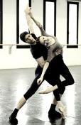Progetto Handel Svetlana Zakharova and Roberto Bolle in rehearsal photo by Brescia and Amisano, Teatro alla Scala 3