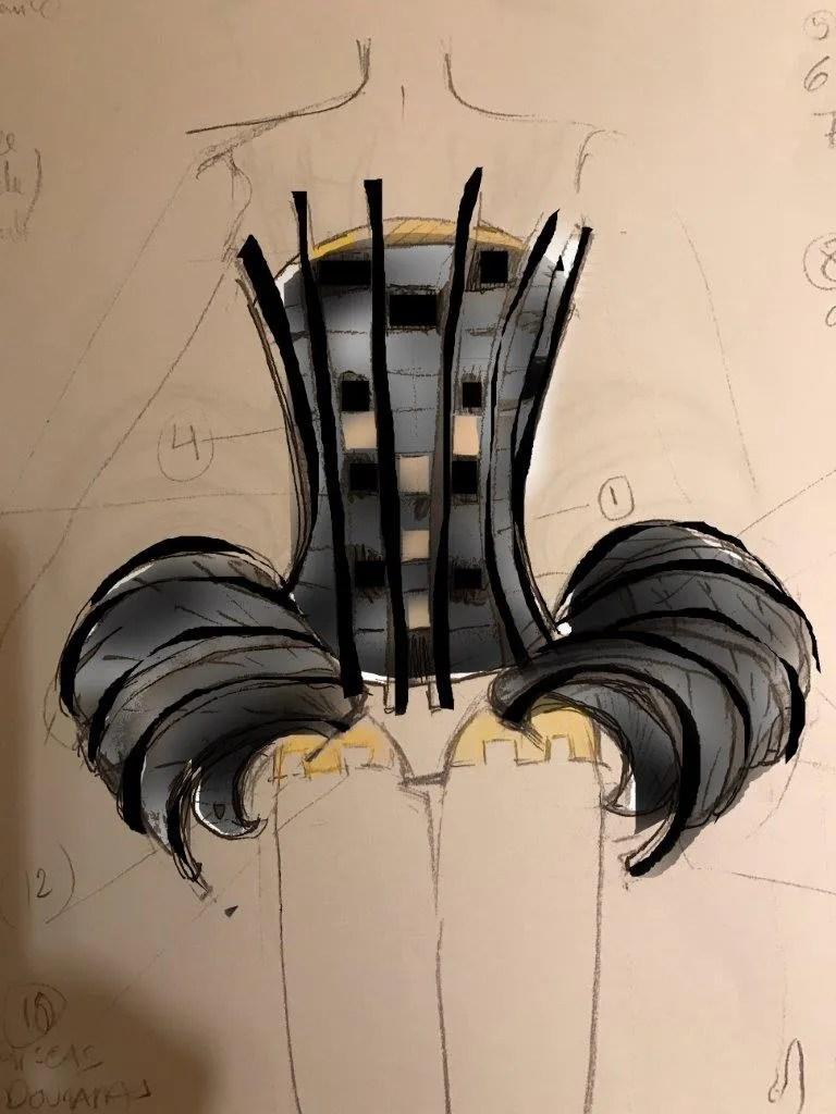 Progetto Handel costume design by Helena de Medeiros 4