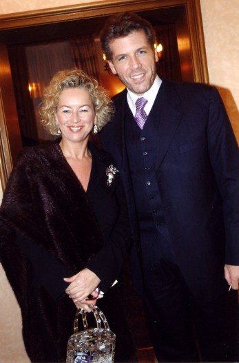 Thomas Hampson with his wife Andrea Herberstein