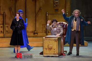 Here I am as Norina in Don Pasquale in a production by Aslico
