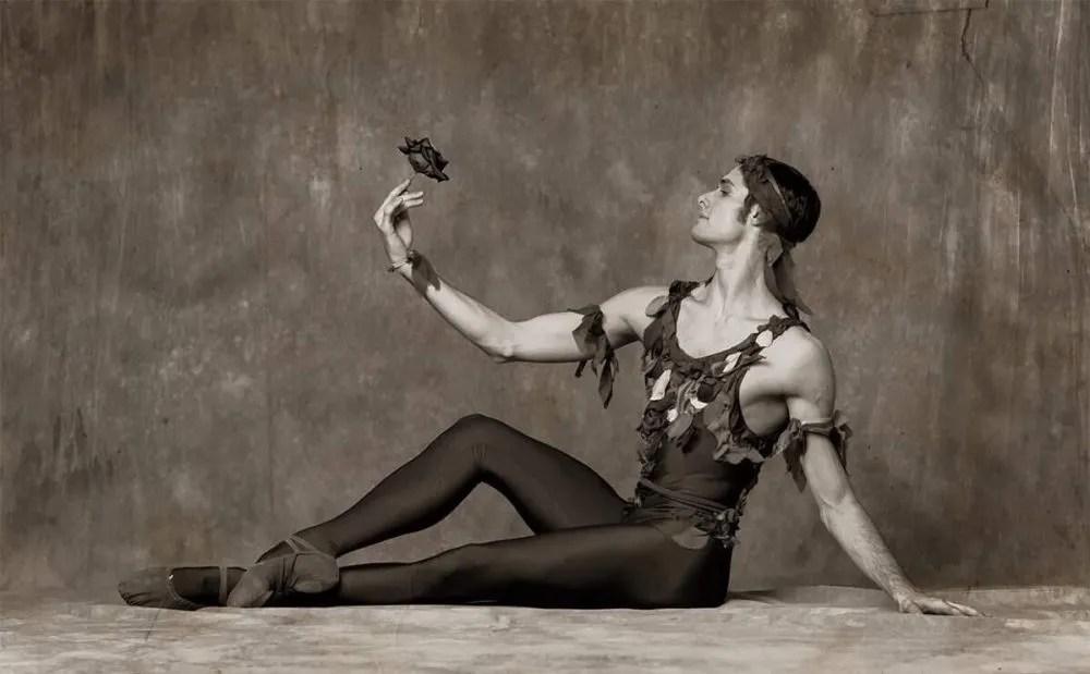 Jacopo Tissi in Le spectre de la rose, photo by Alexander Yakovlev