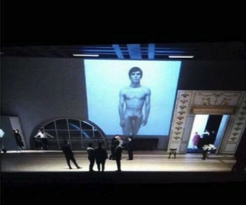 Nureyev rehearsal
