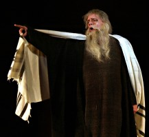 Gregory Reinhart as the Old Hebrew in Samson et Dalilah, Washington DC