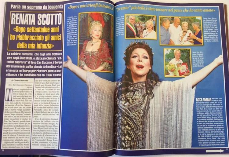 Renata Scotto Di più Magazine