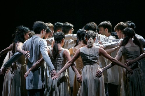 Akram Khan's Giselle, English National Ballet, © Dasa Wharton a15