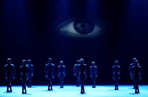 English National Ballet dancers in Fantastic Beings © Laurent Liotardo