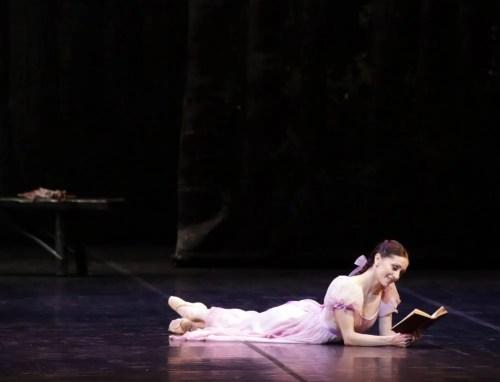 Marianela Núñez in Onegin, photo by Brescia e Armisano, Teatro aalla Scala 2017