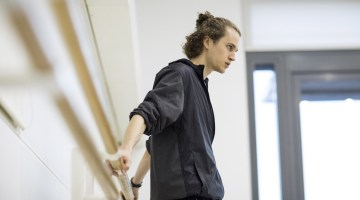 Interview with choreographer Robert Binet on his Dreamers project for the Canadian and Royal ballet companies