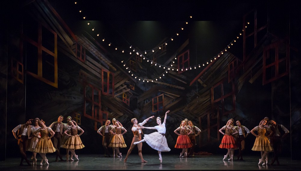 Scottish Ballet Company in Sir Kenneth MacMillan's The Fairy's Kiss. Photo by Andy Ross