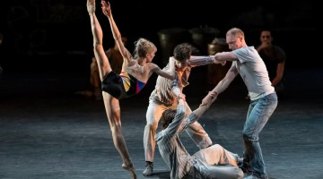 Sneak peek at tonight's MacMillan programme with The Royal Ballet in The Judas Tree and English National Ballet in Song of the Earth