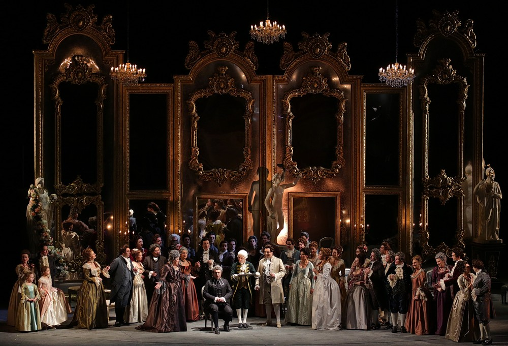 more than 10 tune in to see andrea ch nier live from la scala