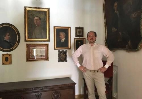 Franco Vassallo with some of his ancestors