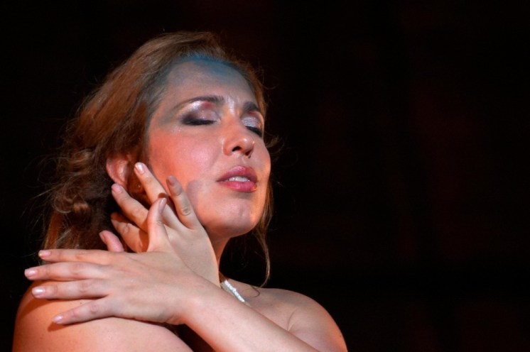 Maria José Siri as Norma in Macerata © Alfredo Tabocchini, 2016