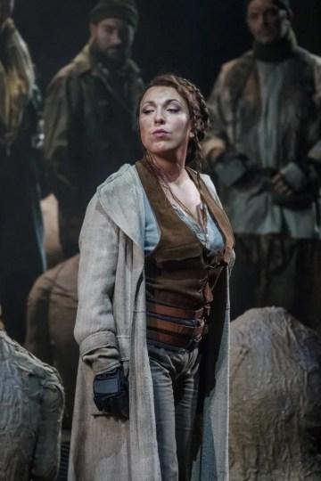 Maria José Siri as Odabella in Attila at the Teatro Comunale di Bologna © Rocco Casaluci, 2016