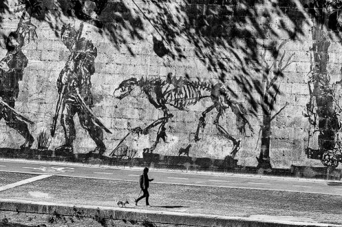 William Kentridge's Triumphs and Laments in Rome, © Sandro Lombardo 3