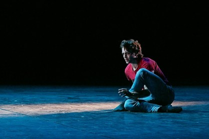 Excerpt from SWANSONG, third movement, Performed by Matthew Ball by Dasa Wharton