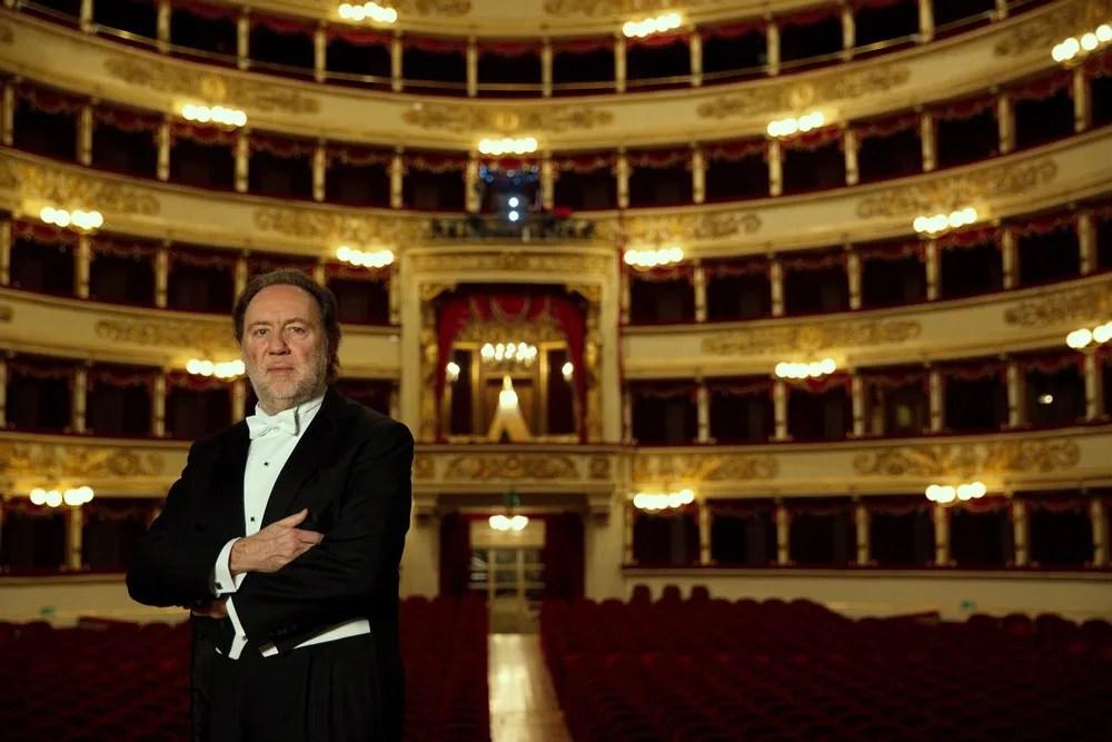 Riccardo Chailly, photo by Brescia e Amisano, Teatro alla Scala