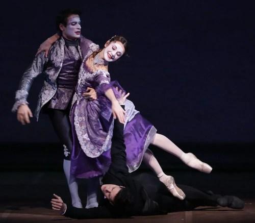 La Dame aux Camélias, with Nicoletta Manni and Marco Agostino, photo by Brescia e Amisano, Teatro alla Scala 2017