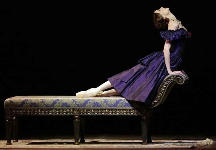 La Dame aux Camélias, with Svetlana Zakharova, photo by Brescia e Amisano, Teatro alla Scala 2017