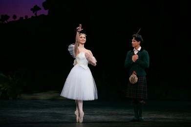 La Sylphide, English National Ballet, photos by Dasa Wharton 09
