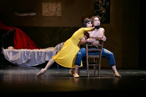 Tamara Rojo and Ivan Vasiliev in Le Jeune Homme et La Mort © Dasa Wharton 34