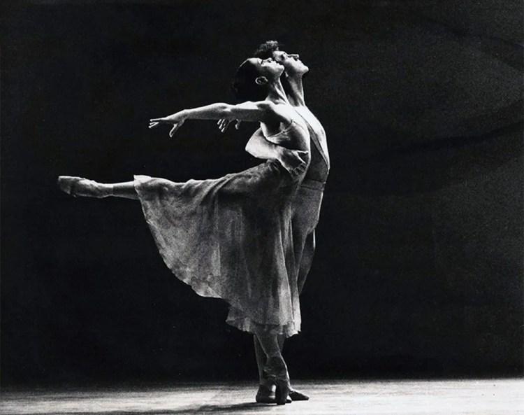 Elisabetta Terabust and Nigel Burgoine in Greening, London Festival Ballet