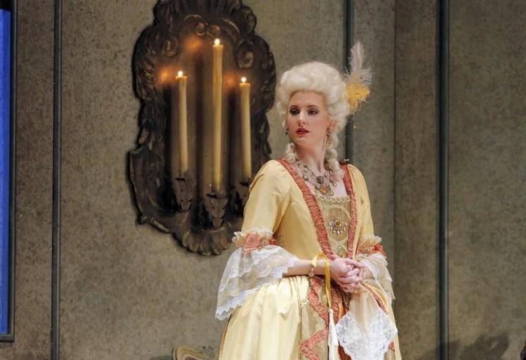 Amanda Majeski as Marschallin in Der Rosenkavalier at Lyric Opera of Chicago, 2016 © Cory Weaver