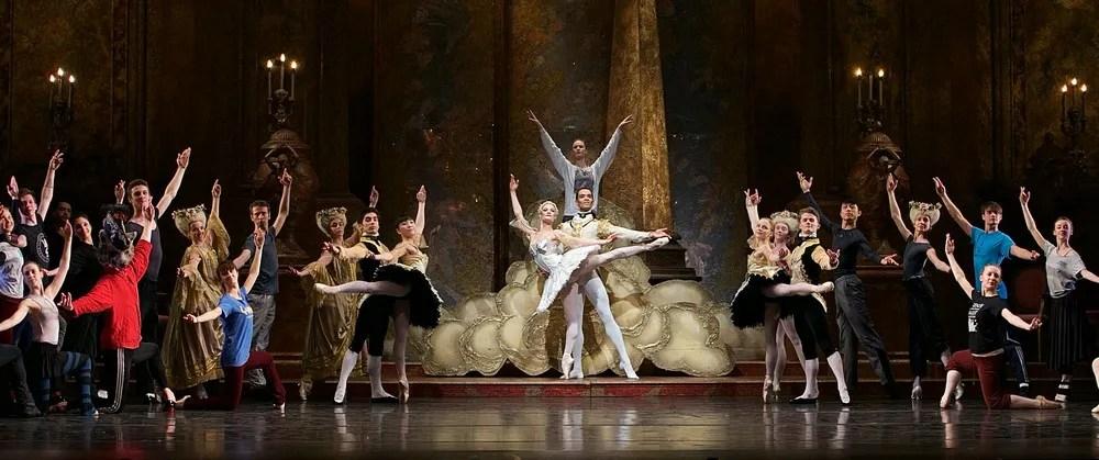 Birmingham Royal Ballet in rehearsal for Sleeping Beauty, photos by Dasa Wharton 14