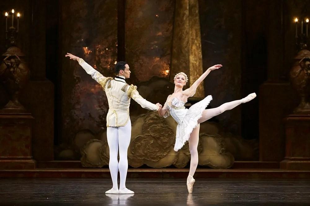 Birmingham Royal Ballet in rehearsal for Sleeping Beauty, photos by Dasa Wharton 18