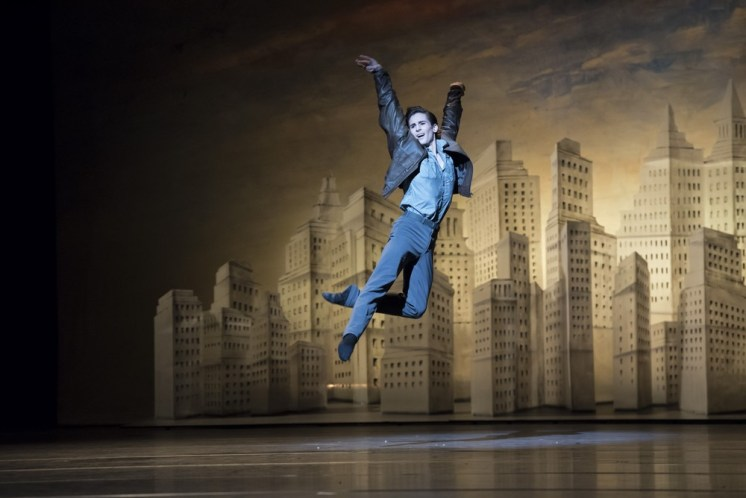 The Age Of Anxiety. Tristan Dyer © ROH, 2014. Photo by Bill Cooper