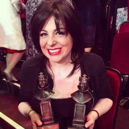 Daniela Barcellona at the Olivier Awards 2018