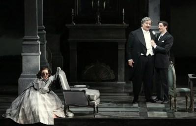 Don Pasquale with Feola, Maestri and Olivieri © Brescia e Armisano, Teatro alla Scala 2018