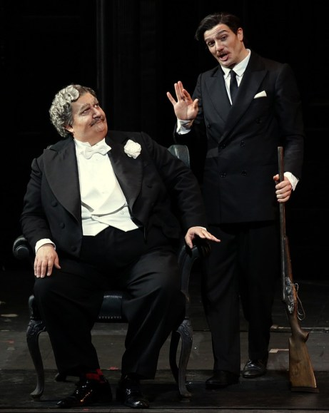 Don Pasquale with Maestri and Olivieri © Brescia e Armisano, Teatro alla Scala 2018 01