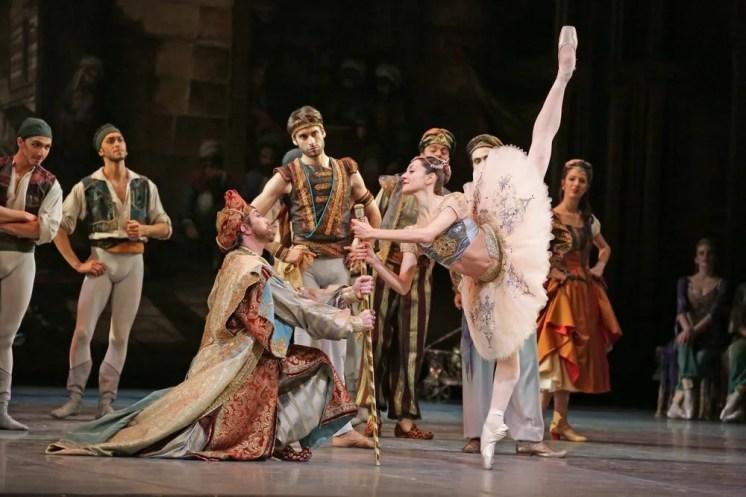 Le Corsaire, Nicoletta Manni, Marco Agostino and Alessandro Grillo, photo Brescia e Amisano, Teatro alla Scala 2018