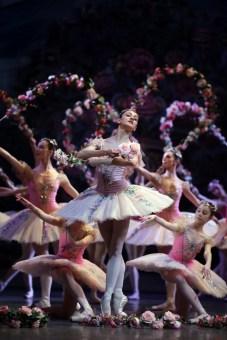 Le Corsaire rehearsal Nicoletta Manni