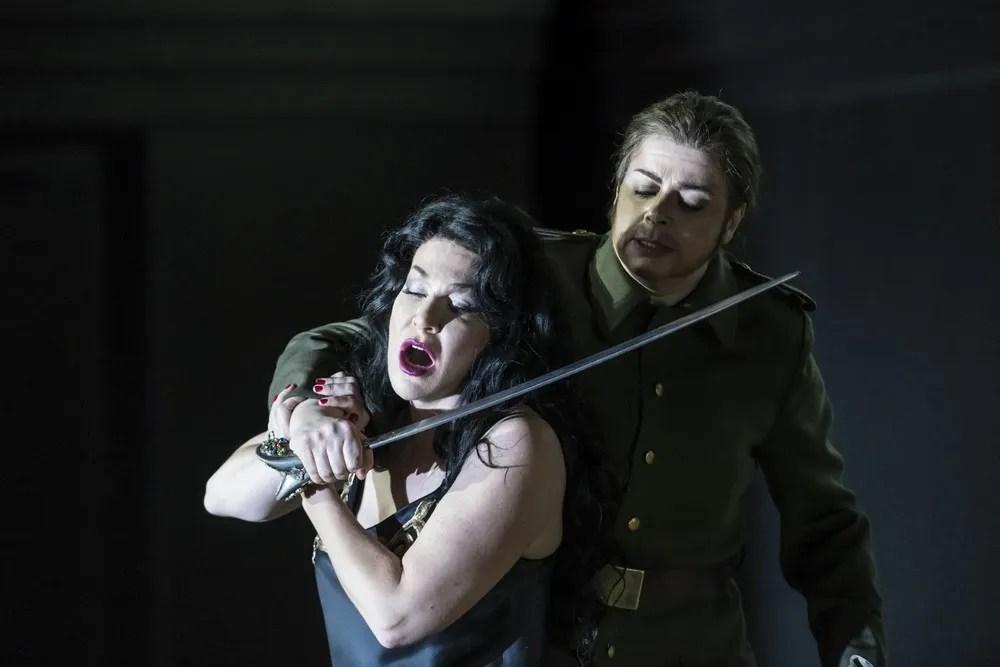 Semiramide with Joyce DiDonato as Semiramide and Daniela Barcellona as Arsace © ROH, photo b Bill Cooper