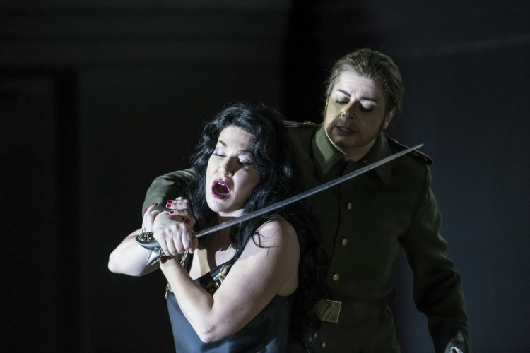 Semiramide with Joyce DiDonato as Semiramide and Daniela Barcellona as Arsace © ROH, photo b Bill Cooper