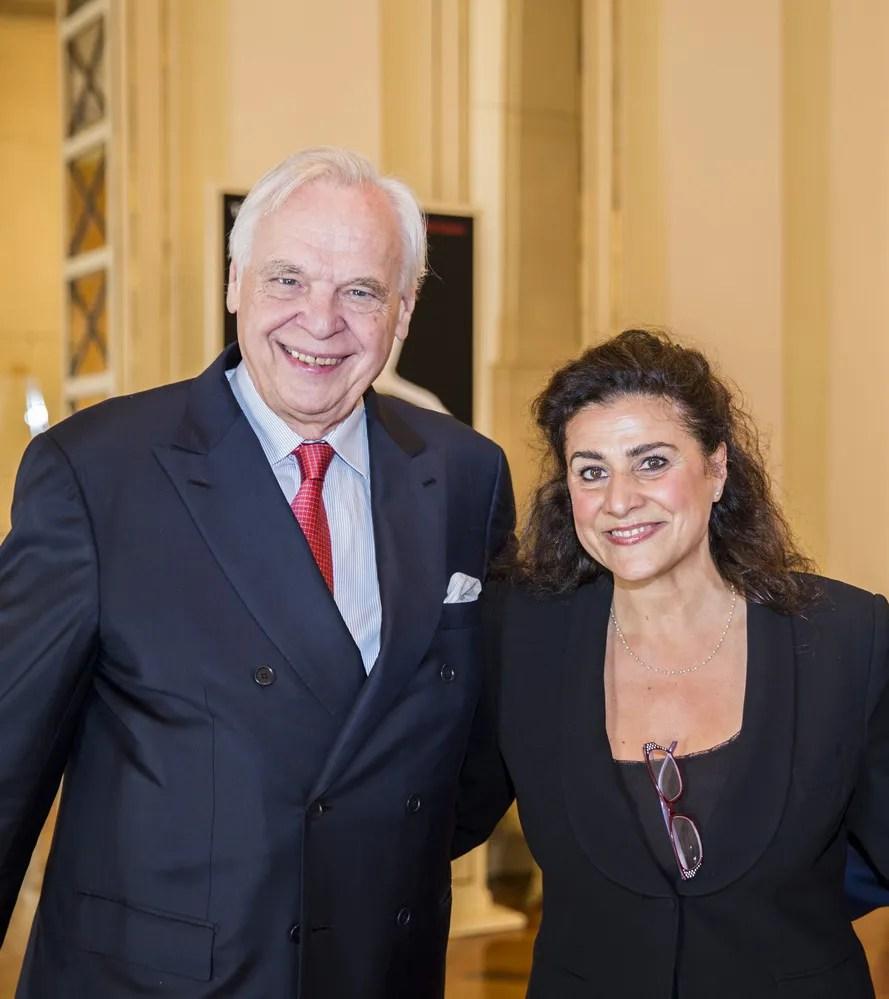 Cecilia Bartoli with Alexander Pereira © Marco Brescia, Teatro alla Scala 2018