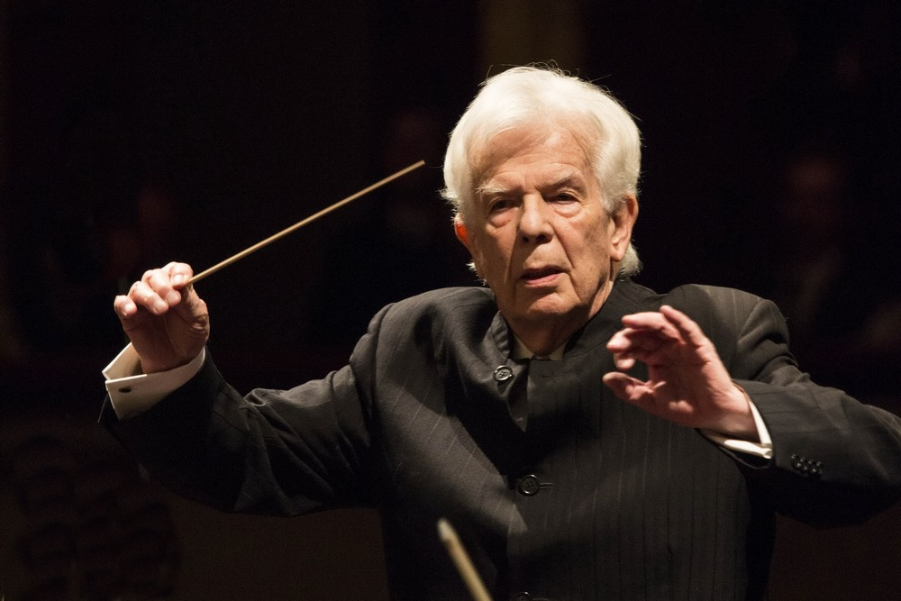 Christoph von Dohnanyi, photo by Brescia e Amisano