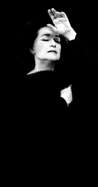 Leyla Gencer, photo by Lelli e Masotti